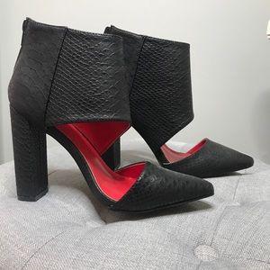 NEW heel booties